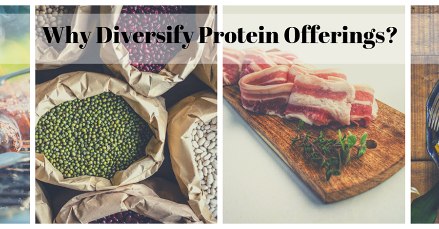 Animal Proteins and Alternatives: All Have the Same Goal, Will Learn to Share